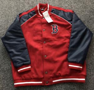 Majestic Boston Red Sox MLB Baseball Varsity Coat Jacket - Adults Men's Size XL