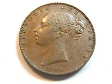 1845 Great Britain 1/4 D Farthing - Victoria - #5011