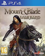 Mount and Blade: Warband (PS4) BRAND NEW SEALED