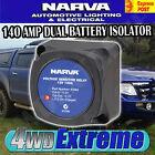 NARVA 12V 140AMP DUAL BATTERY SYSTEM VOLTAGE SENSITIVE RELAY, VSR 61092 61092BL