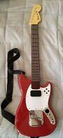 Wireless Statocoaster 98563 Harmonix Red guitar fender mustang Xbox 360