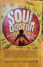 SOUL DOCTOR Cast Signed Broadway Poster Windowcard