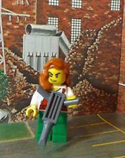 Burtess con taladro neumático-Nuevo-Lego City - - REF12-Mini Figura