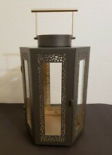 Yankee Candle Renaissance Lantern  Bronze Jar Candle Holder