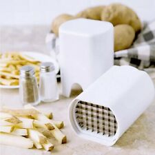 Potato Chipper French Fries Cutter Vegetable Chopper Slicer Thin Kitchen Tool OZ