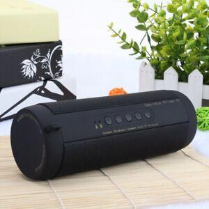 Bluetooth Music Bass Speaker Waterproof Portable Outdoor LED Wireless Column Lou