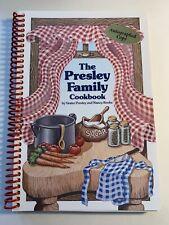The Presley Family Cookbook By Nancy Rooks / Autograph Copy / Memphis