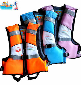 Kids Boys Girls Life Jacket Vest Swim Floating Kayak Buoyancy Aid Watersport UK