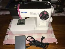 JUKI HZL-27Z Compact Lightweight Portable Home Sewing Machine & Pedal