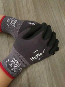 Ansell HyFlex 11-840 Schutzhandschuhe mit Nitrilschaumbeschichtung Größe 6