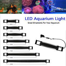 Super Slim LED Aquarium Light Over-Head Fish Tank Light with Blue & White LEDs