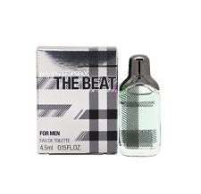 Burberry The Beat Edt 4.5ml Perfume Men Miniature Eau de Toilette Boxed New