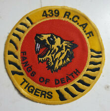 F-104 starfighter RCAF Royal Canadian Airforce 439sqd patch 13.2 cm
