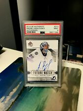 ANDREI VASILEVSKIY RC AUTO FUTURE WATCH ROOKIE PSA 9 UD SP AUTHENTIC AUTOGRAPH