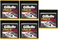 Gillette TRAC II Plus Razor Blade Refill Cartridges - 50 Count (Bulk Packaging)