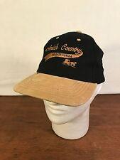 Men's Black Cotton & Suede Amish Country Pennsylvania Adjustable Baseball Cap