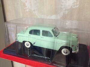 Moskvich-403 Scale 1:24 Hachette Diecast model car USSR
