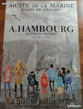 A. HAMBOURG - Affiche Expo 1977