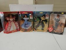 Barbie Lot of 4 I Love Lucy Wizard of Oz Happy Holidays MIDP