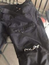 Klim Latitude #5147 Motorcycle Adventure Pants, Black,