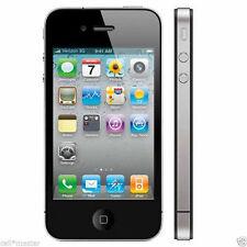 Verizon Page Plus Straight Talk Apple iPhone 4 Black CDMA 8GB New!