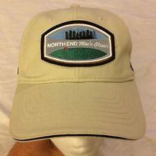 """NWT """"North End Men's Classic"""" Golf Tan Sand Tournament Cap Hat Adjustable NEW"""