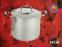 Royal Cuisine High Quilty  Stainless Steel Stock Pot Set