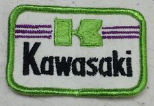 "NEW Kawasaki vintage patch 3x2"""