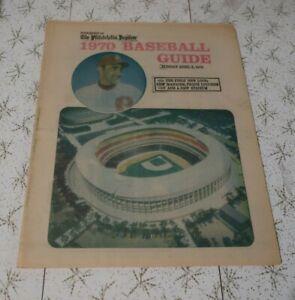 1970 The Philadelphia Inquirer Baseball Guide, Phillies, Veterens Stadium,  36p