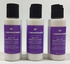 (3X) Ole Henrikson Dry/Sensitive Skin Apricot Cleansing Lotion 2 oz. Travel Size
