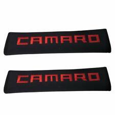 Pair Car Shoulder Pad Cushion Car Seat Belt Cover For Chevy Camaro