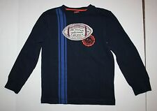 New Gymboree Boys Football Applique Striped Tee 5 Year Straight A Athletes