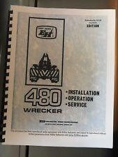 73 Ernest Holmes 480 Wrecker tow truck Service Manual