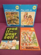 4 x Vintage ladybird key words reading scheme books 1970's good condition