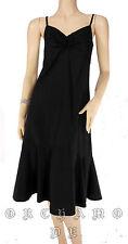 Robe PAILIOU Taille 2 / M / 38 Noire 100% Coton forme ample au bas TBE Dress été