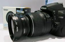 Nikon D5300 D3100 D5200 D5100 52MM 0.43x  Fisheye Wide Angle Macro Lens NEW !!