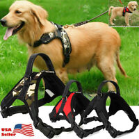 Pet Dog Vest Harness Adjustable Patches Reflective Small Large Medium S-XL USA