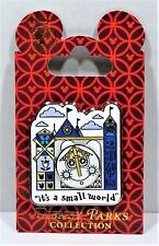 Disney Its A Small World Happy Clock Tower Smiling Face Spinner 3-D Pin NEW CUTE