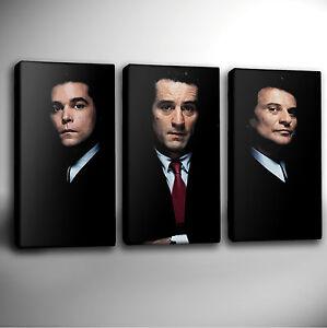 GOODFELLAS Canvas Art - Triple 3 Panel Print   PREMIUM Quality *Choose your size