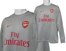 NEW Nike ARSENAL Football  Training Sweatshirt Silver Grey Medium