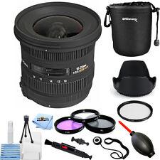 Sigma 10-20mm f/3.5 EX DC HSM Autofocus Zoom Lens (Canon Cameras)!! PRO KIT NEW!
