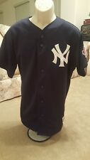 DEREK JETER New York Yankees 2003 Majestic 100th Anniversary Baseball Jersey