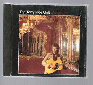 "CD THE TONY RICE UNIT ""ACOUSTICS"" - 1994 ROUNDER"