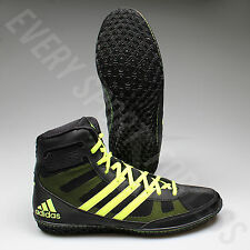 Adidas Mat Wizard 3 Wrestling Shoes S77969 - Black/Yellow (NEW) Lists @ $105