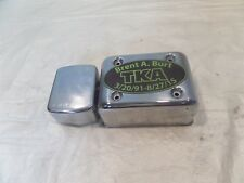 Harley Davidson Dyna Low Rider Wide Glide Chrome Electrical Ignition Coil Cover