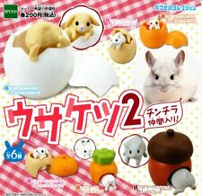 epoch Nyanko kitchen 3 Gashapon 6set mascot capsule toys Figures Complete set