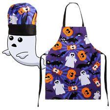 Enfants Costume D'Halloween Déguisement Effrayant PVC Tablier Cuisine &