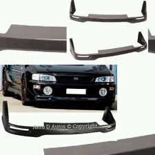 98-01 Subaru Impreza WRX STi Classic Seibon Style Front Bumper Lip Splitter