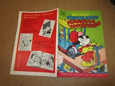 WALT DISNEY ALBO D'ORO N°33 TOPOLINO E LA FERROVIA TOCCAFERRO 21-08-1955