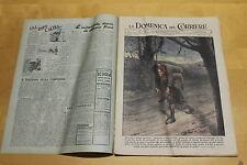 rivista - DOMENICA DEL CORRIERE - anno 1943 numero 15 ill.MOLINO